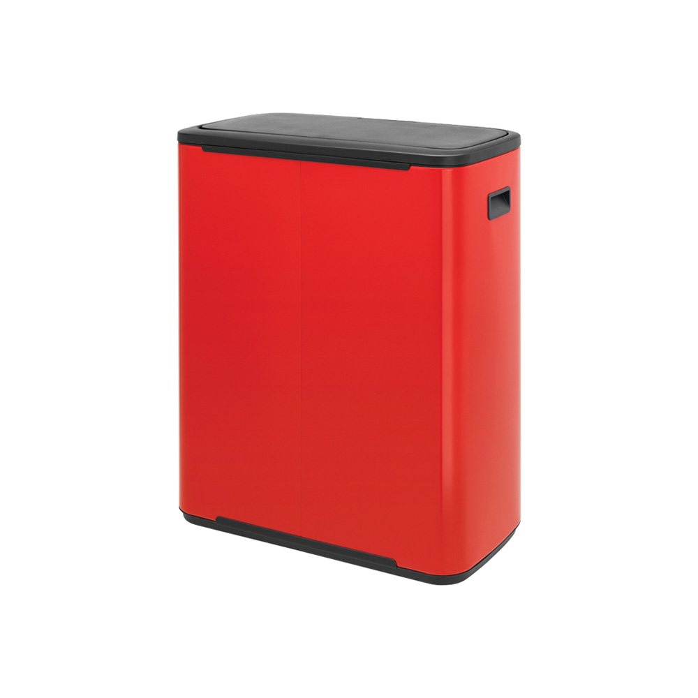 Кош за смет Brabantia Bo Touch 60L, Passion Red(1)