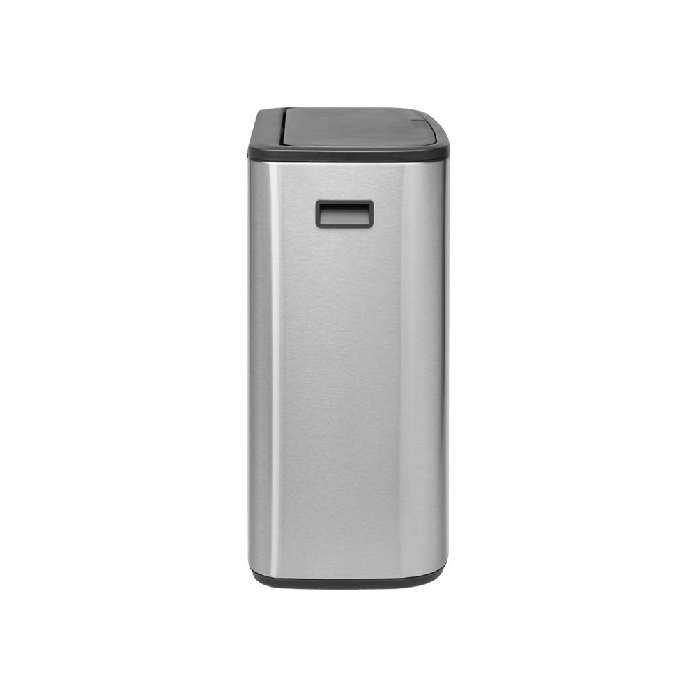 Кош за смет Brabantia Bo Touch 60L, Matt Steel Fingerprint Proof(3)