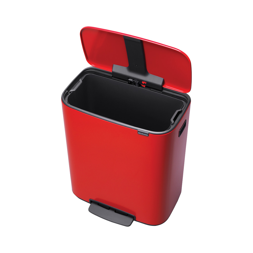Кош за смет Brabantia Bo Pedal 60L, Passion Red(2)