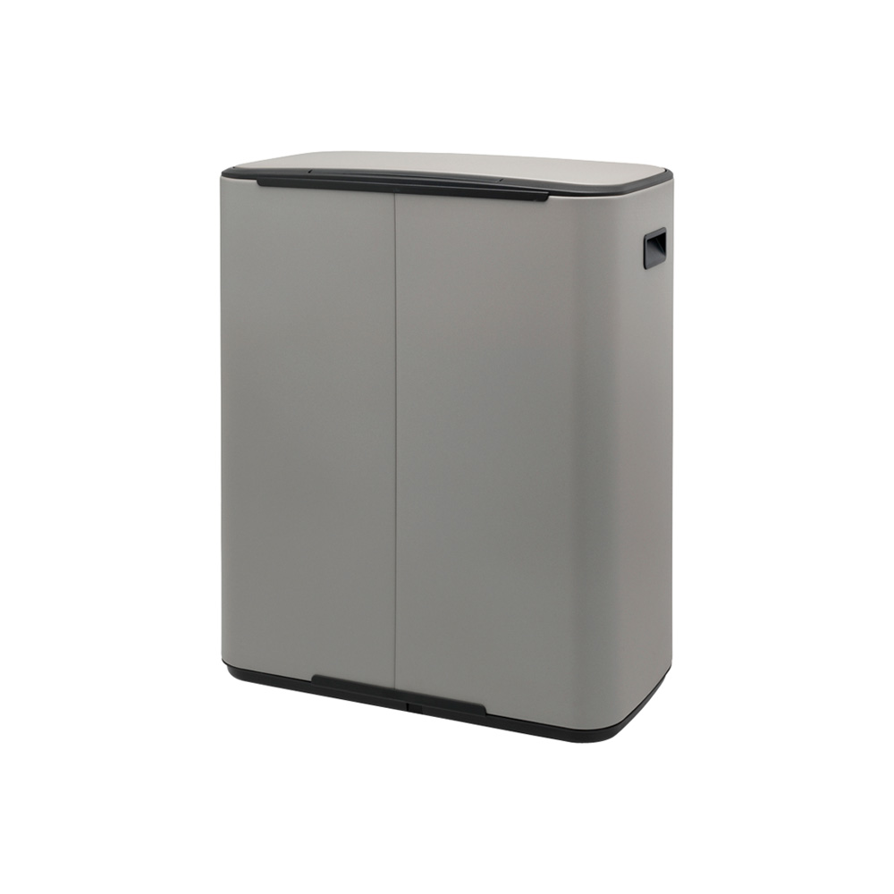 Кош за смет Brabantia Bo Pedal 60L, Mineral Concrete Grey(3)