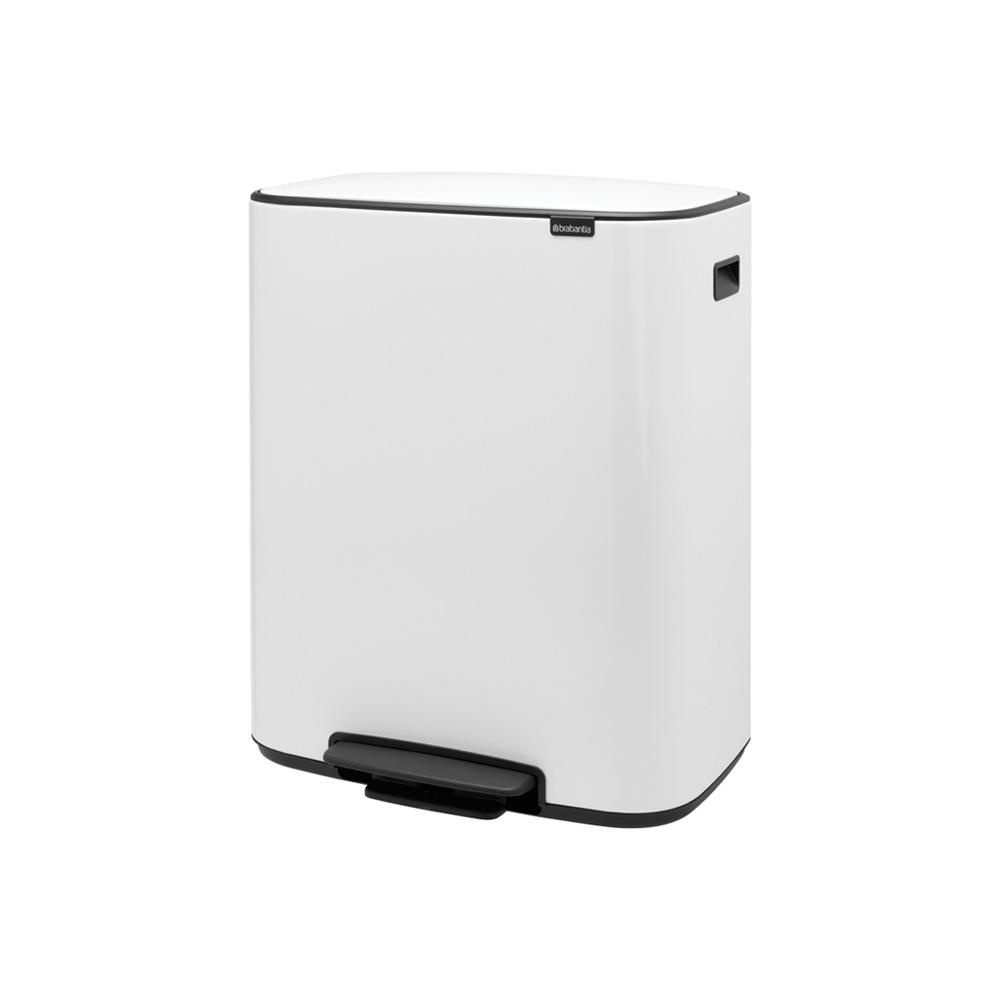 Кош за смет Brabantia Bo Pedal 2x30L, White(2)