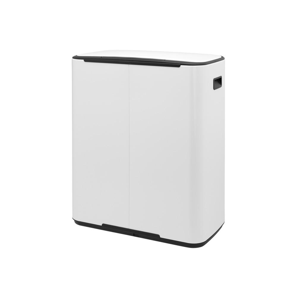 Кош за смет Brabantia Bo Pedal 2x30L, White(3)