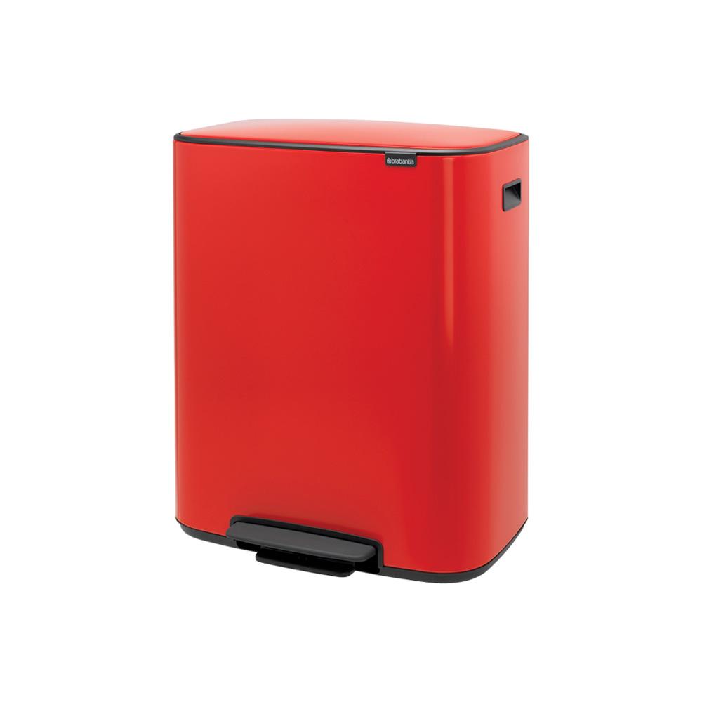 Кош за смет Brabantia Bo Pedal 2x30L, Passion Red(2)