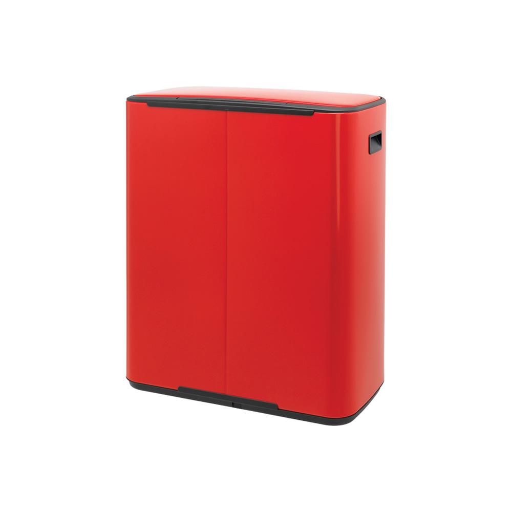 Кош за смет Brabantia Bo Pedal 2x30L, Passion Red(3)