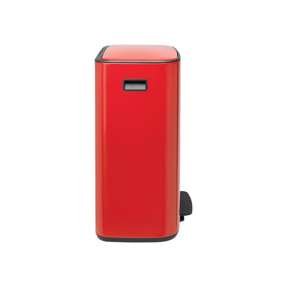 Кош за смет Brabantia Bo Pedal 2x30L, Passion Red(5)