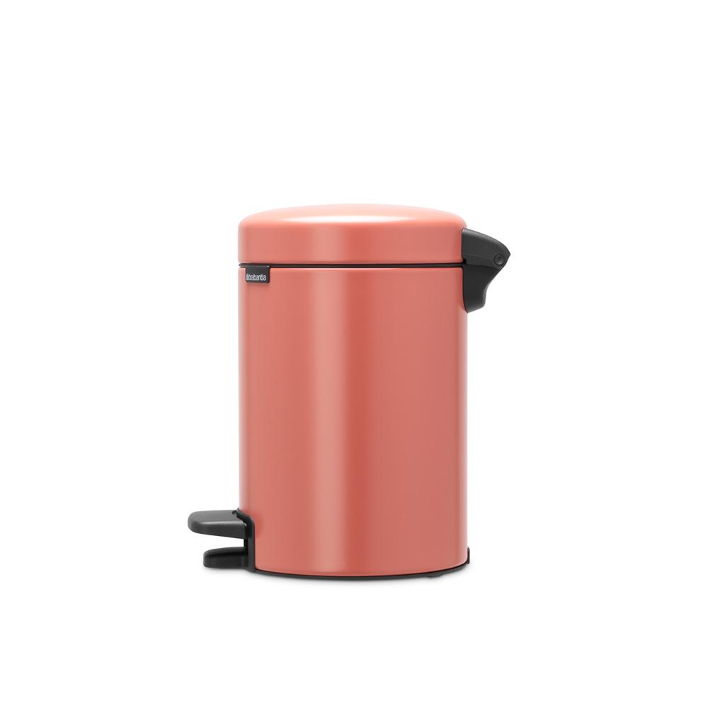 Кош за смет с педал Brabantia NewIcon 3L, Terracotta Pink(2)