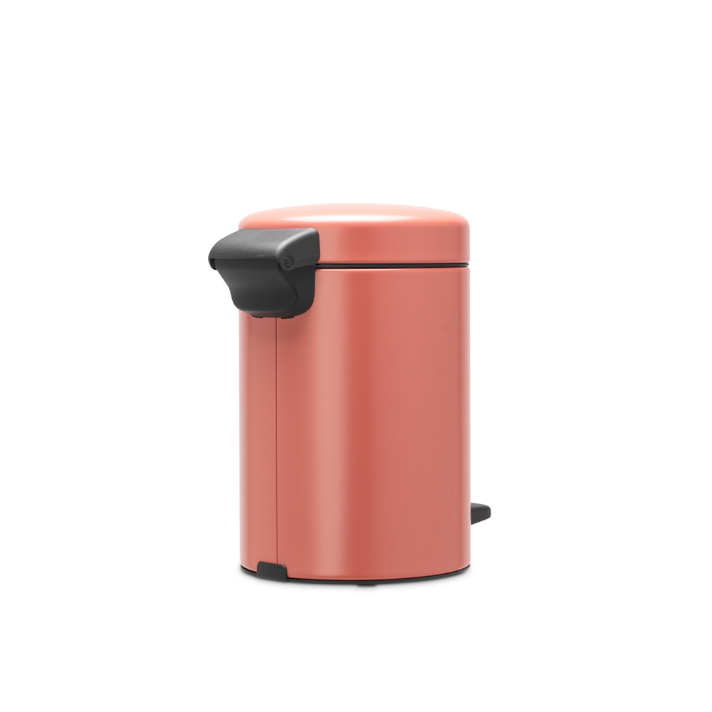 Кош за смет с педал Brabantia NewIcon 3L, Terracotta Pink(3)