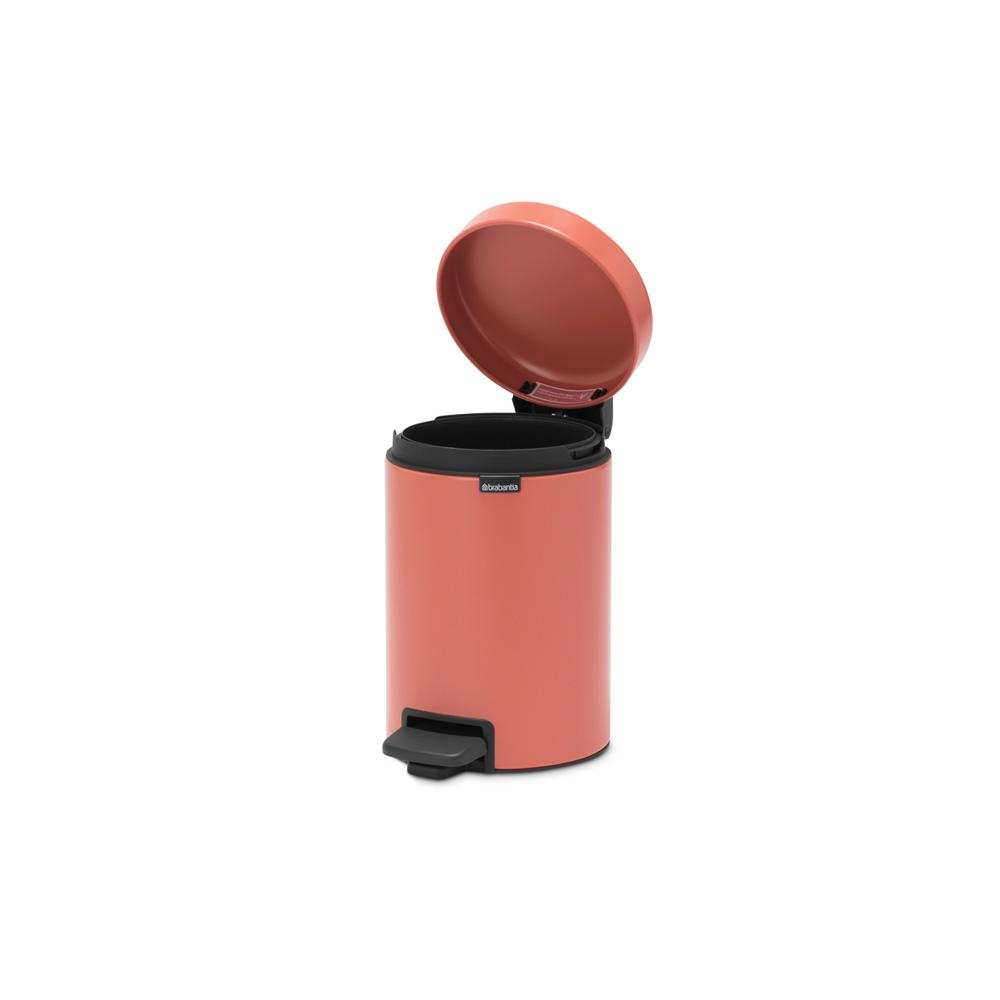 Кош за смет с педал Brabantia NewIcon 3L, Terracotta Pink(4)