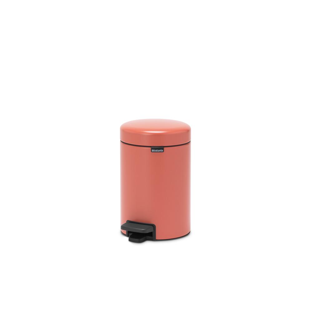 Кош за смет с педал Brabantia NewIcon 3L, Terracotta Pink(5)