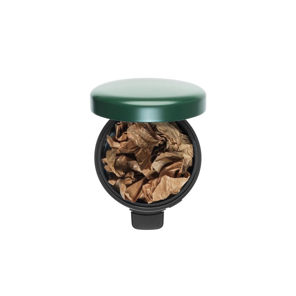 Кош за смет с педал Brabantia NewIcon 5L, Pine Green(1)