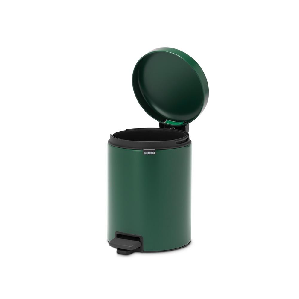 Кош за смет с педал Brabantia NewIcon 5L, Pine Green(5)