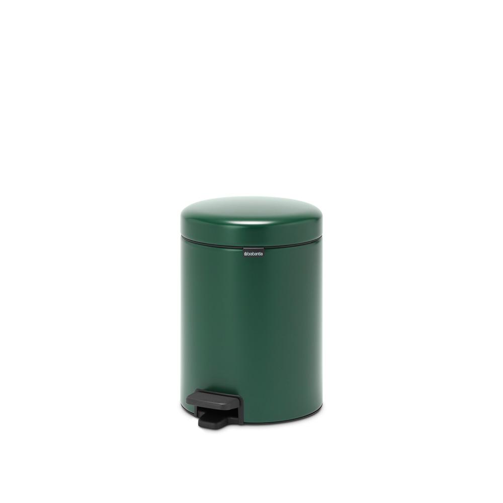Кош за смет с педал Brabantia NewIcon 5L, Pine Green(6)