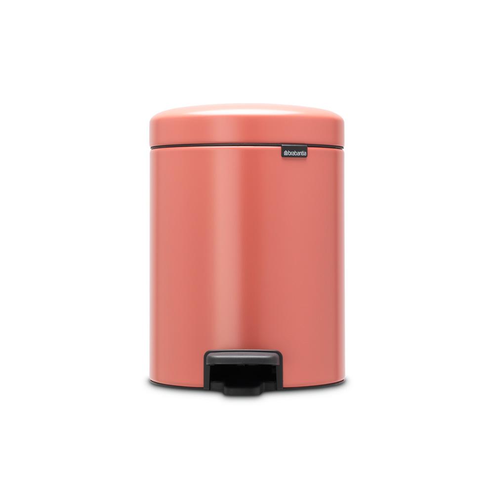 Кош за смет с педал Brabantia NewIcon 5L, Terracotta Pink