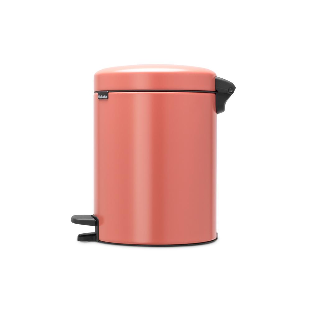 Кош за смет с педал Brabantia NewIcon 5L, Terracotta Pink(3)