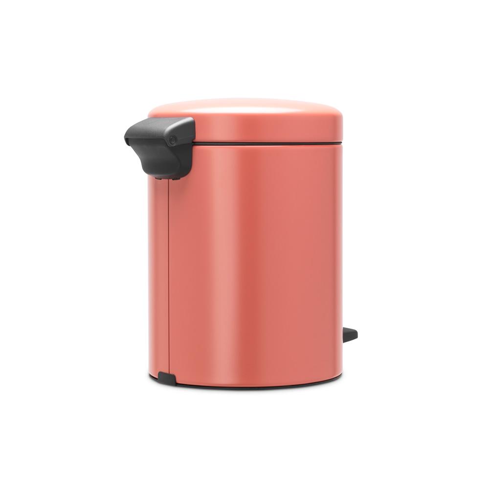 Кош за смет с педал Brabantia NewIcon 5L, Terracotta Pink(4)