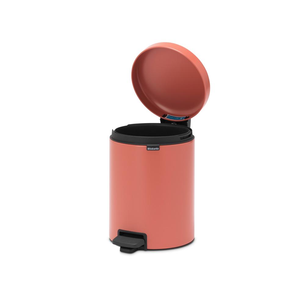 Кош за смет с педал Brabantia NewIcon 5L, Terracotta Pink(5)