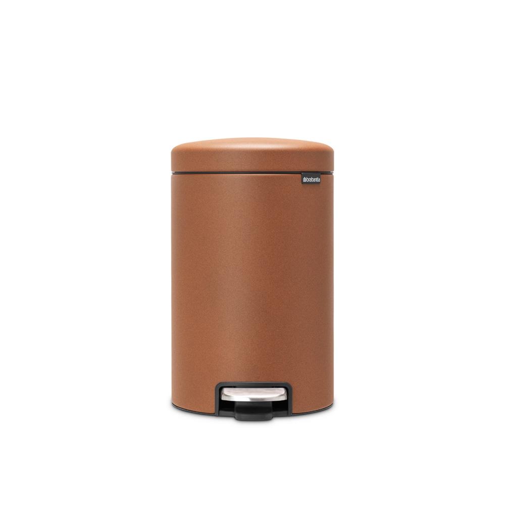 Кош за смет с педал Brabantia NewIcon 12L, Mineral Cinnamon