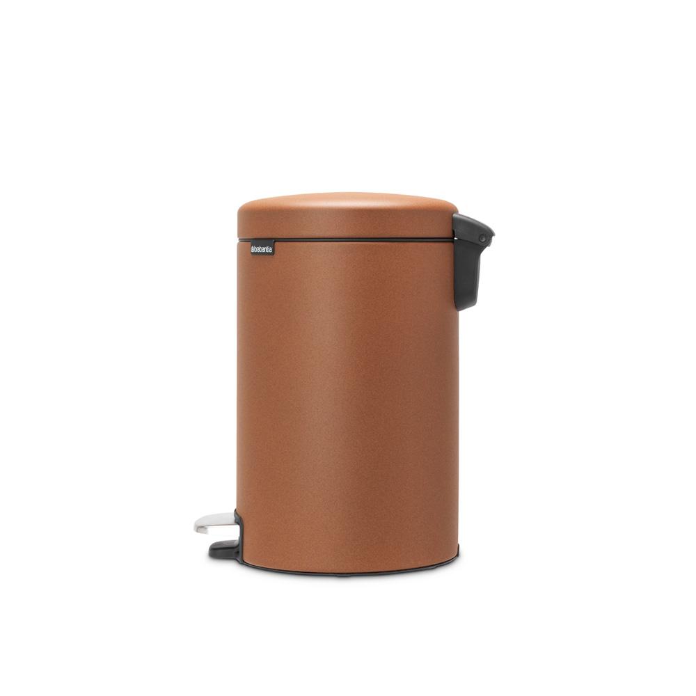 Кош за смет с педал Brabantia NewIcon 12L, Mineral Cinnamon(3)