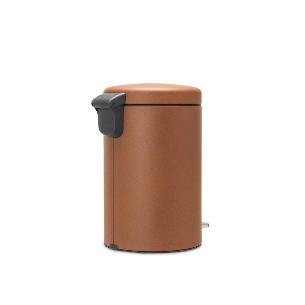 Кош за смет с педал Brabantia NewIcon 12L, Mineral Cinnamon(4)