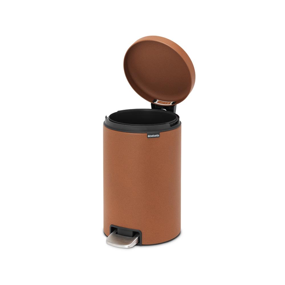 Кош за смет с педал Brabantia NewIcon 12L, Mineral Cinnamon(5)