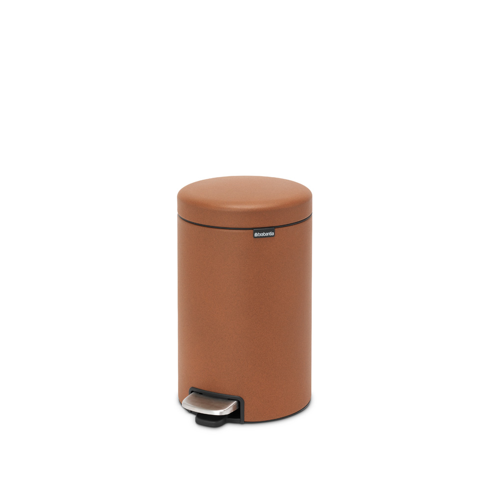 Кош за смет с педал Brabantia NewIcon 12L, Mineral Cinnamon(6)