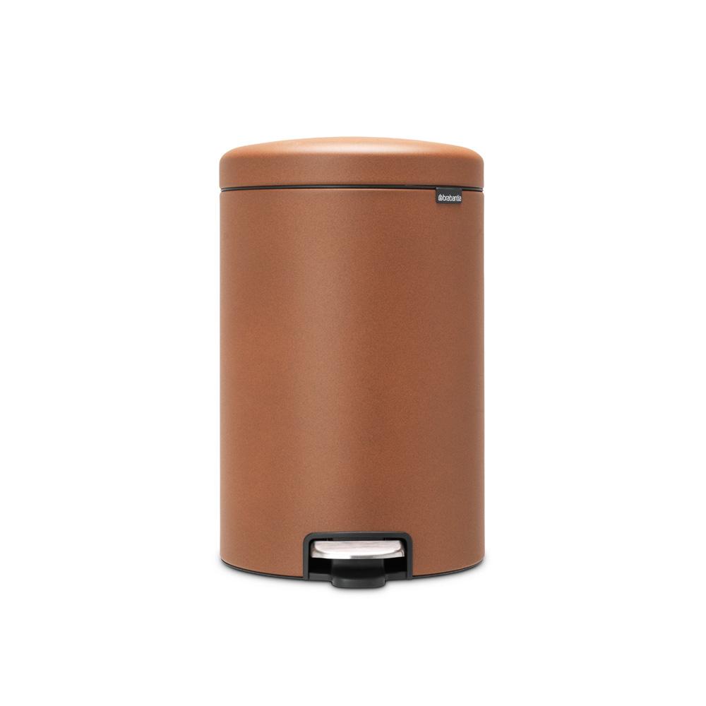 Кош за смет с педал Brabantia NewIcon 20L, Mineral Cinnamon