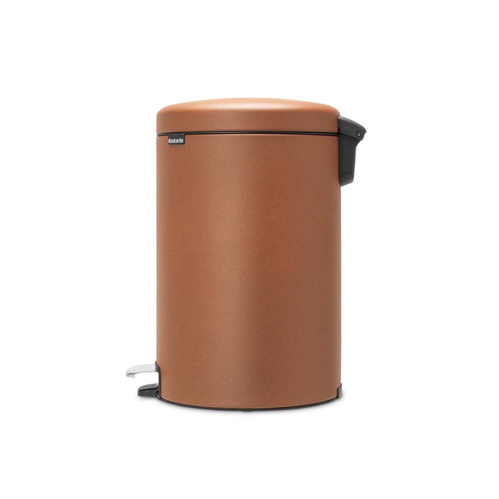 Кош за смет с педал Brabantia NewIcon 20L, Mineral Cinnamon(3)