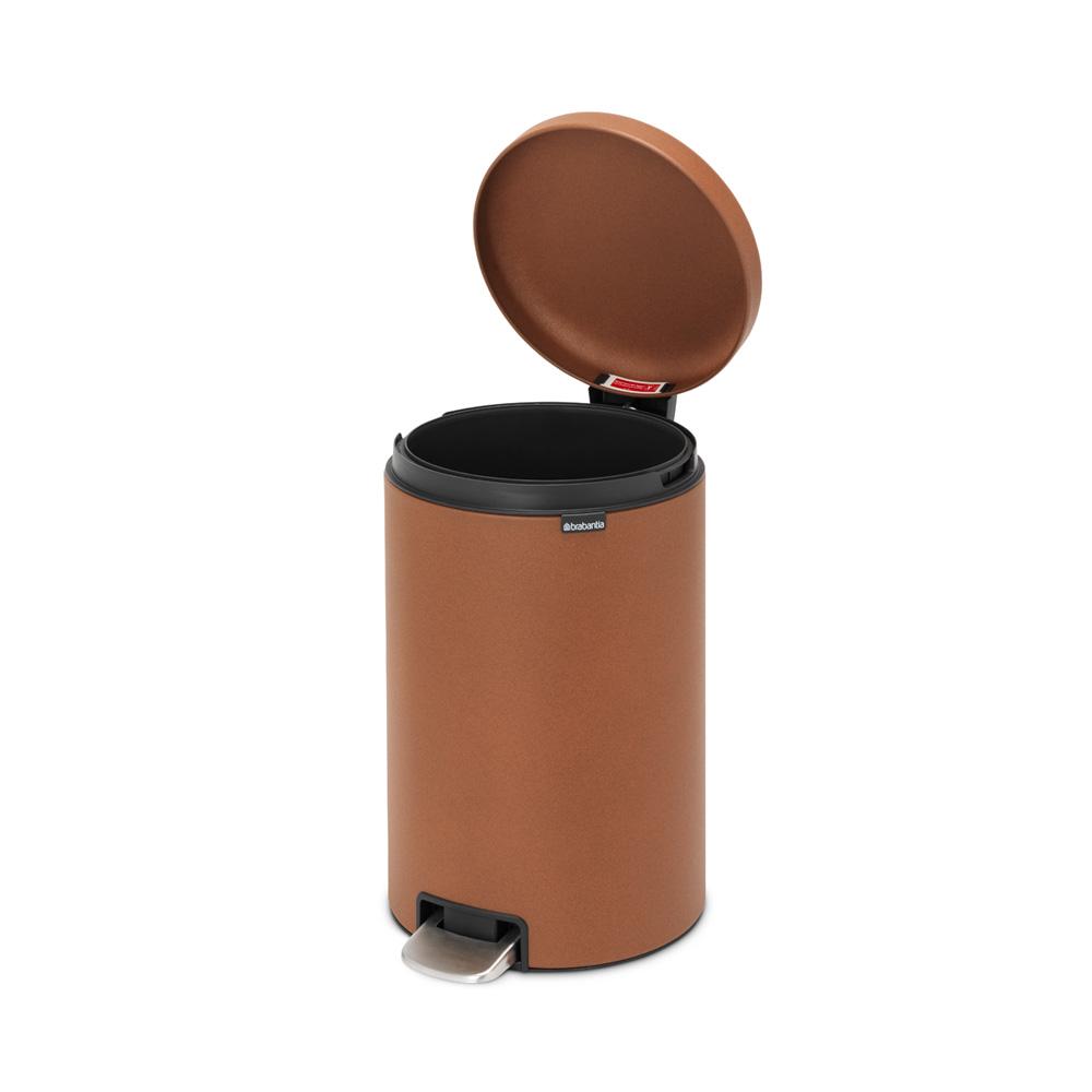 Кош за смет с педал Brabantia NewIcon 20L, Mineral Cinnamon(5)