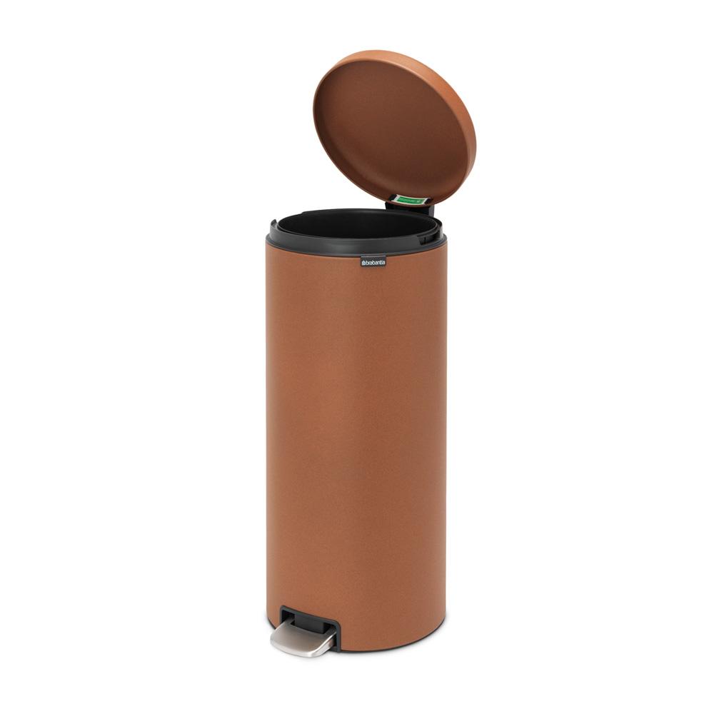 Кош за смет с педал Brabantia NewIcon 30L, Mineral Cinnamon(5)