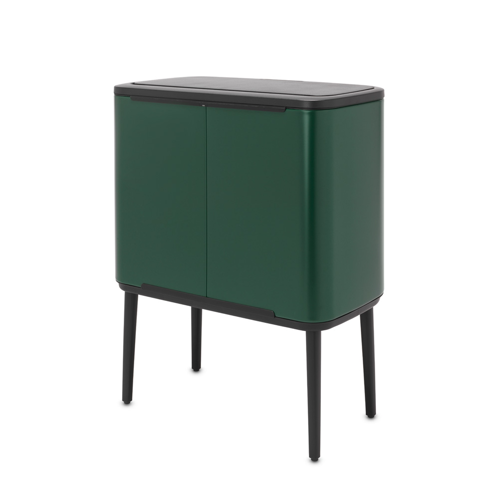 Кош за смет Brabantia Bo Touch 3x11L, Pine Green(3)