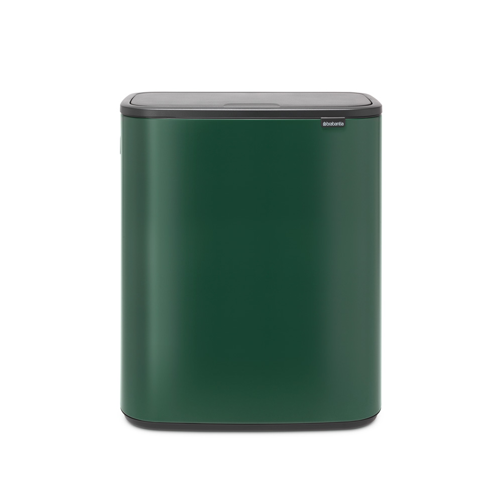 Кош за смет Brabantia Bo Touch 2x30L, Pine Green