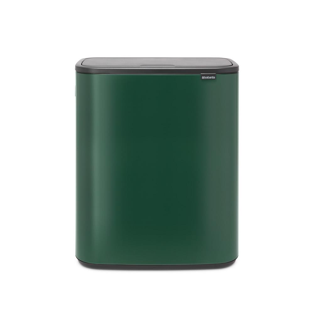 Кош за смет Brabantia Bo Touch 60L, Pine Green
