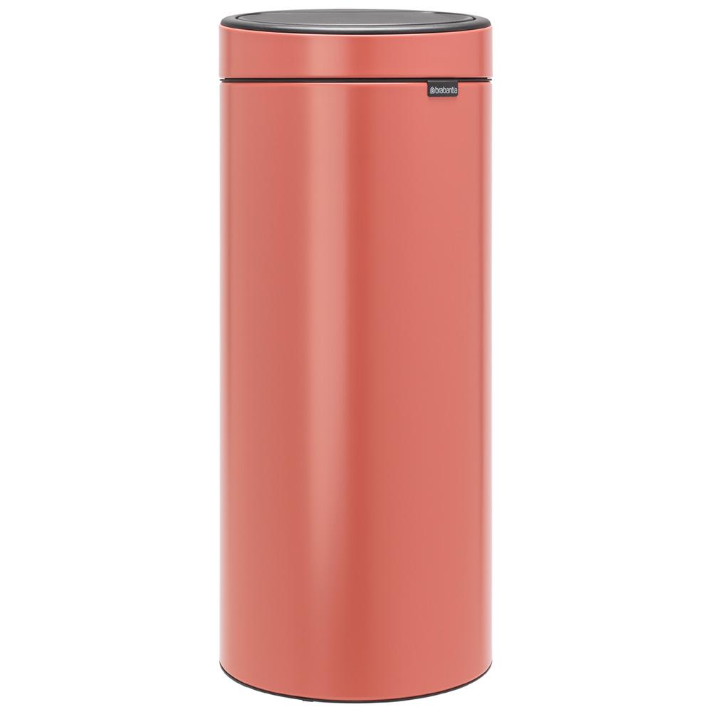 Кош за смет Brabantia Touch Bin New 30L, Terracotta Pink