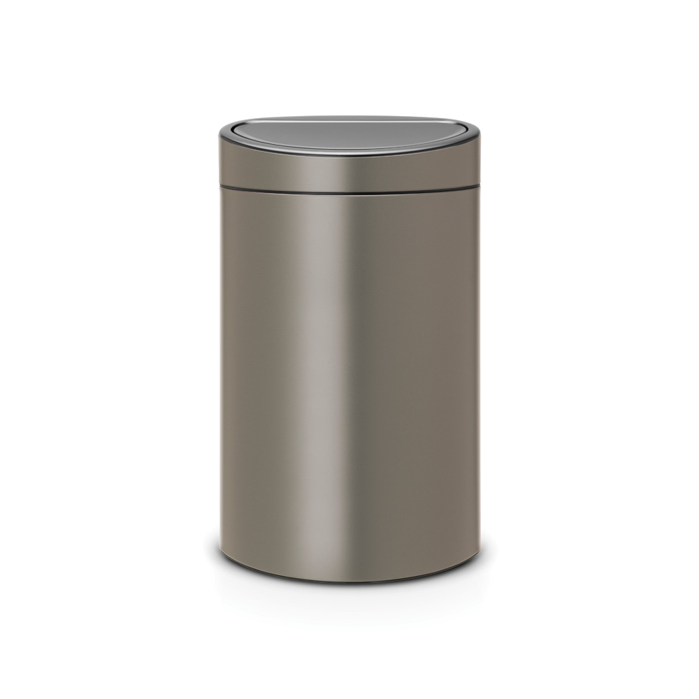 Кош за смет Brabantia Touch Bin Recycle New 10+23L, Platinum