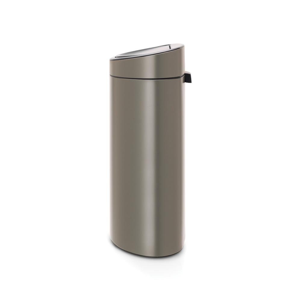 Кош за смет Brabantia Touch Bin Recycle New 10+23L, Platinum(1)