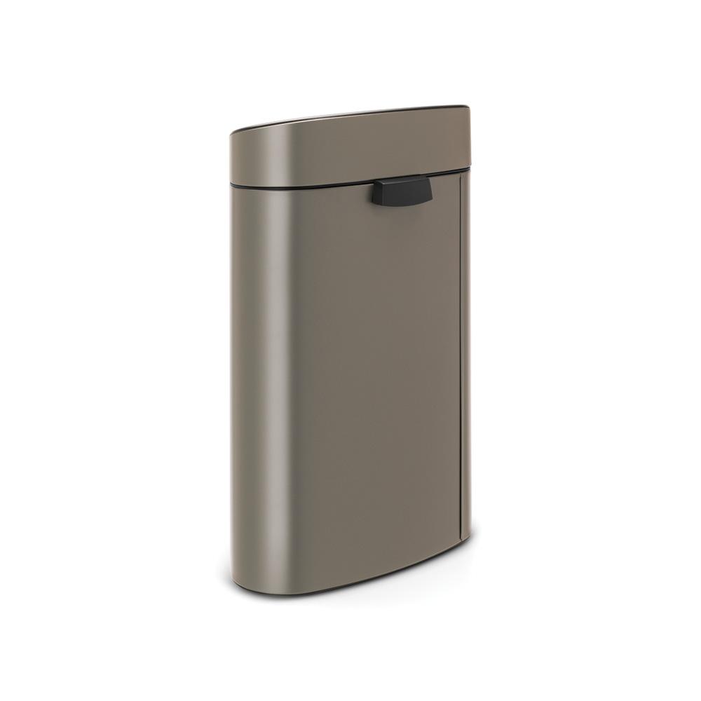 Кош за смет Brabantia Touch Bin Recycle New 10+23L, Platinum(2)