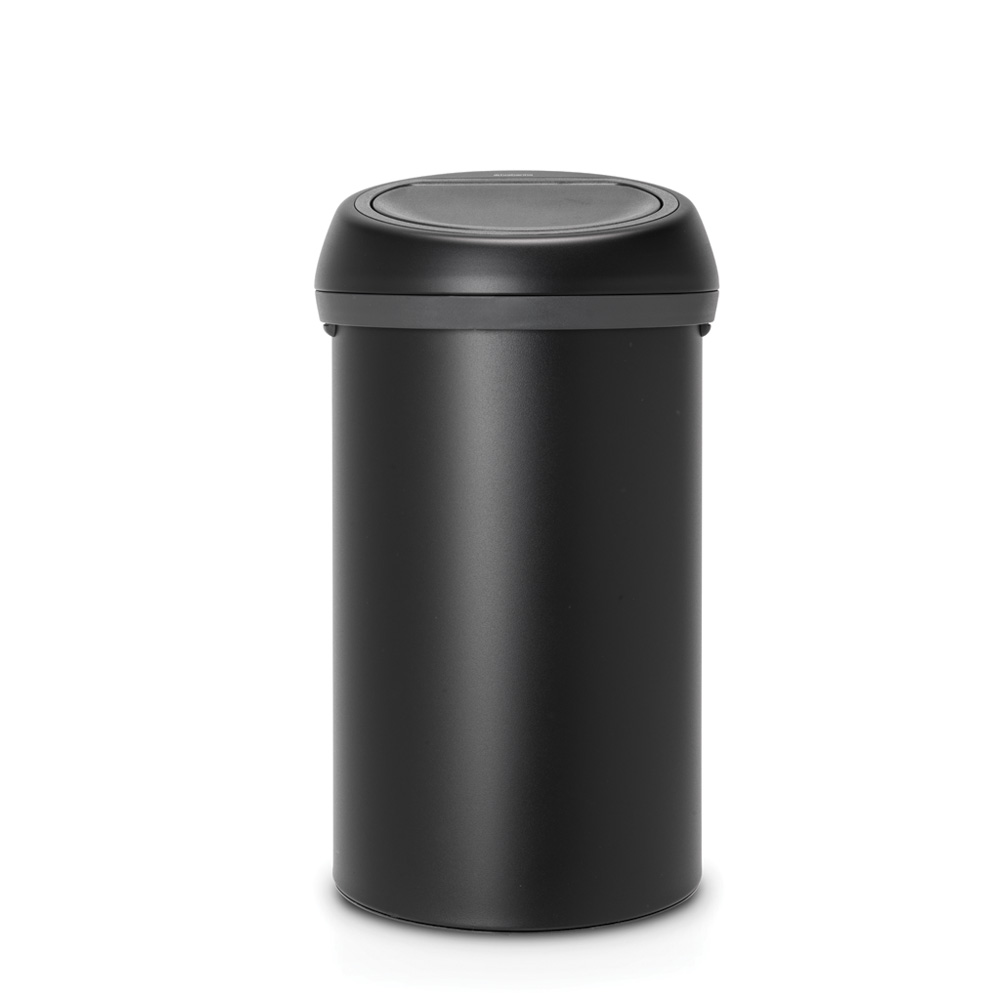 Кош за смет Brabantia Touch Bin 60L, Mineral Moonlight Black