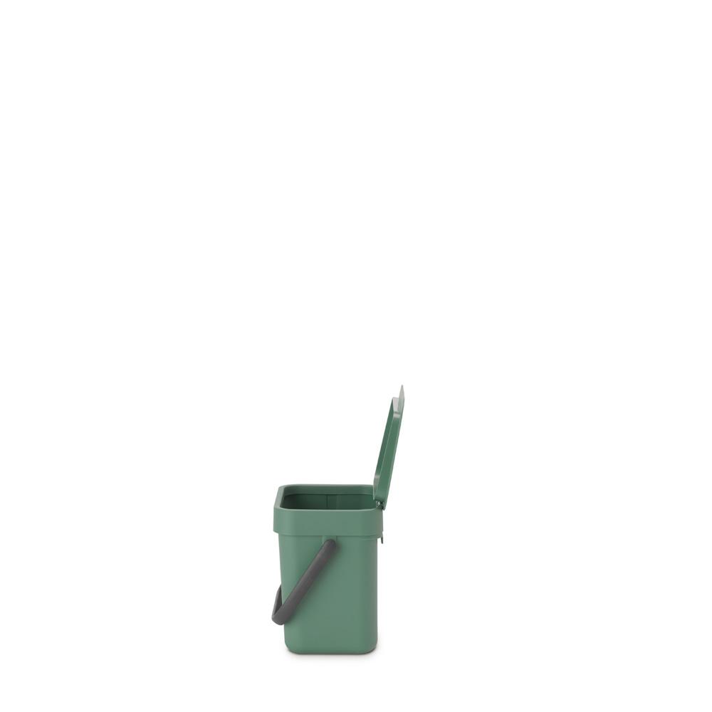 Кош за смет за разделно събиране Brabantia Sort&Go 3L, Fir Green(2)