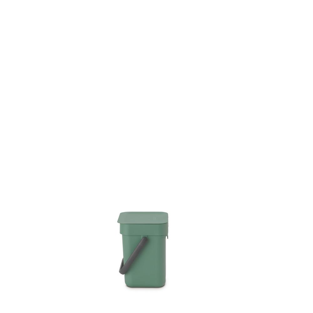 Кош за смет за разделно събиране Brabantia Sort&Go 3L, Fir Green(3)