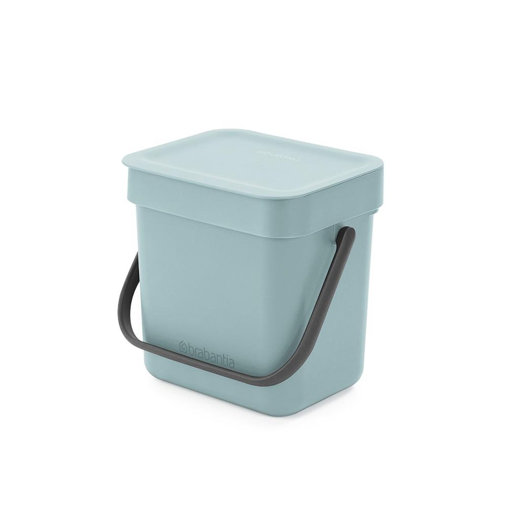 Кош за смет за разделно събиране Brabantia Sort&Go 3L, Mint
