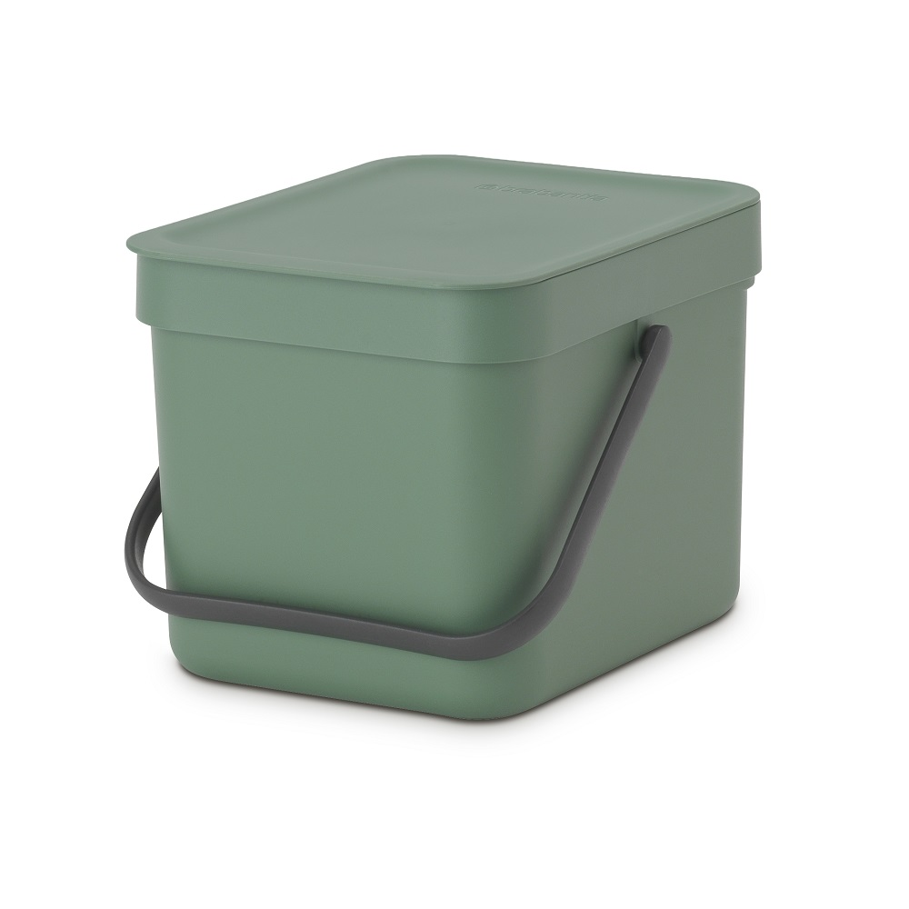 Кош за смет за разделно събиране Brabantia Sort&Go 6L, Fir Green