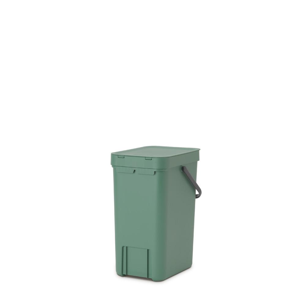 Кош за смет за разделно събиране Brabantia Sort&Go 12L, Fir Green(5)