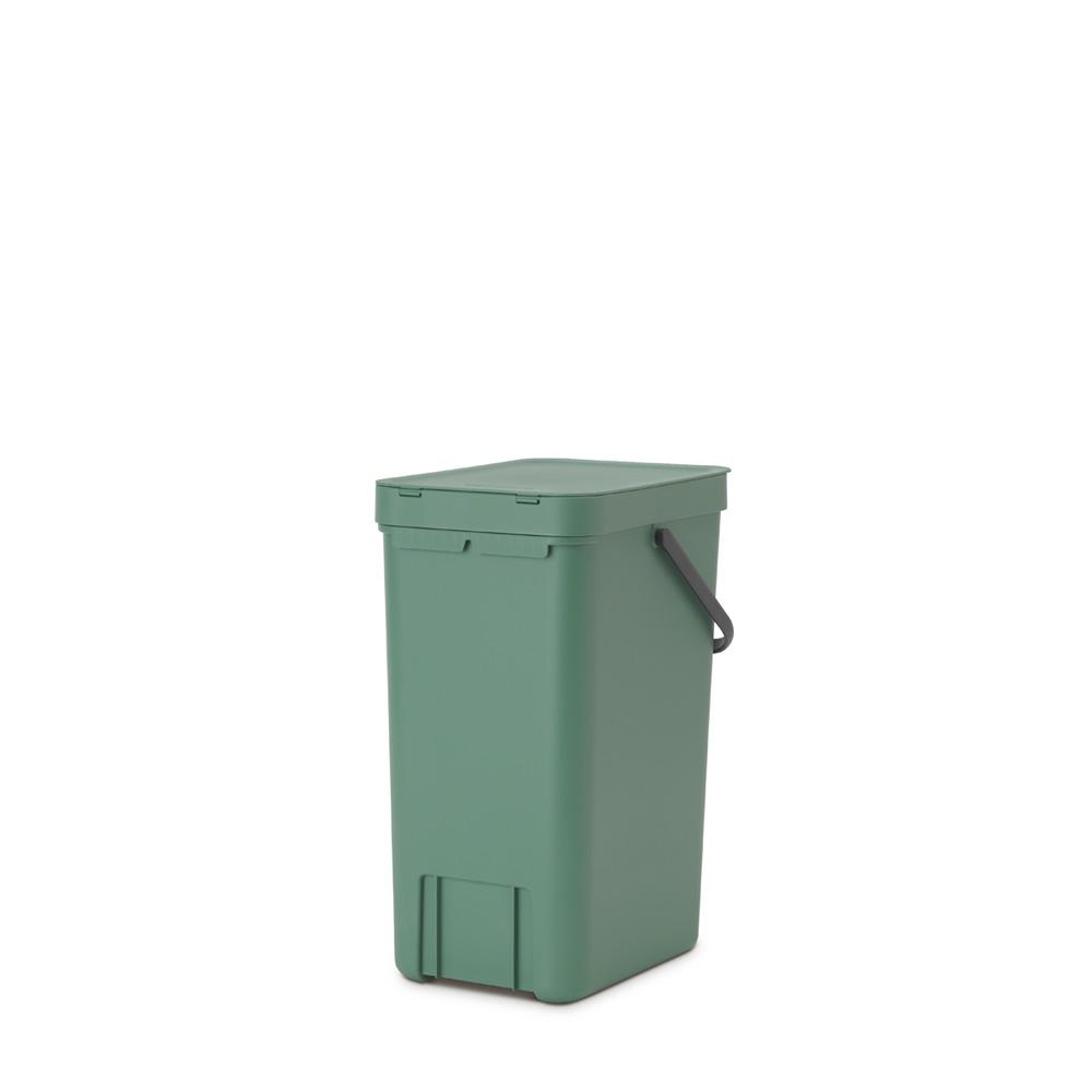 Кош за смет за разделно събиране Brabantia Sort&Go 16L, Fir Green(4)