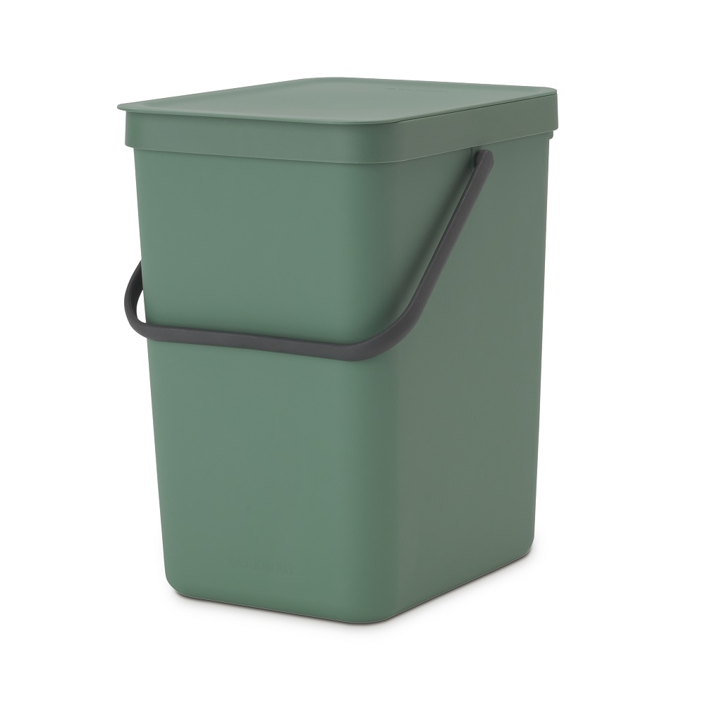 Кош за смет за разделно събиране Brabantia Sort&Go 25L, Fir Green