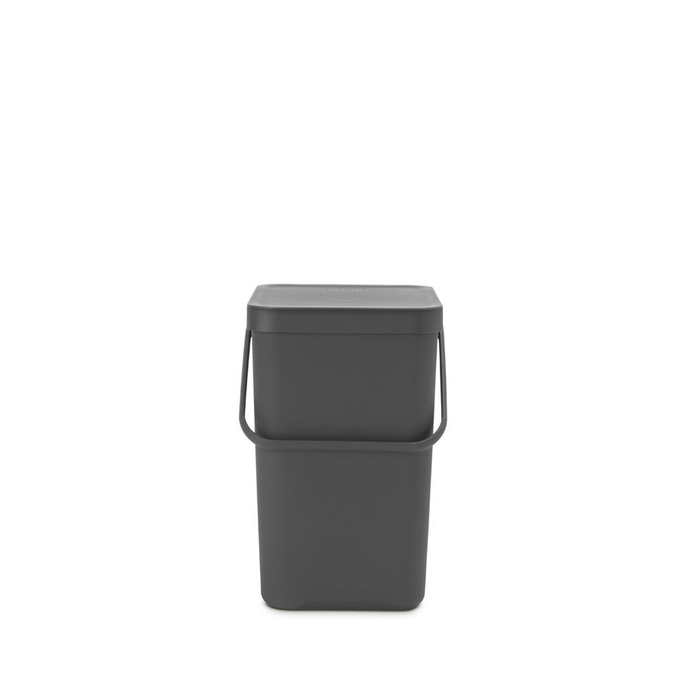 Кош за смет за разделно събиране Brabantia Sort&Go 25L, Grey(5)