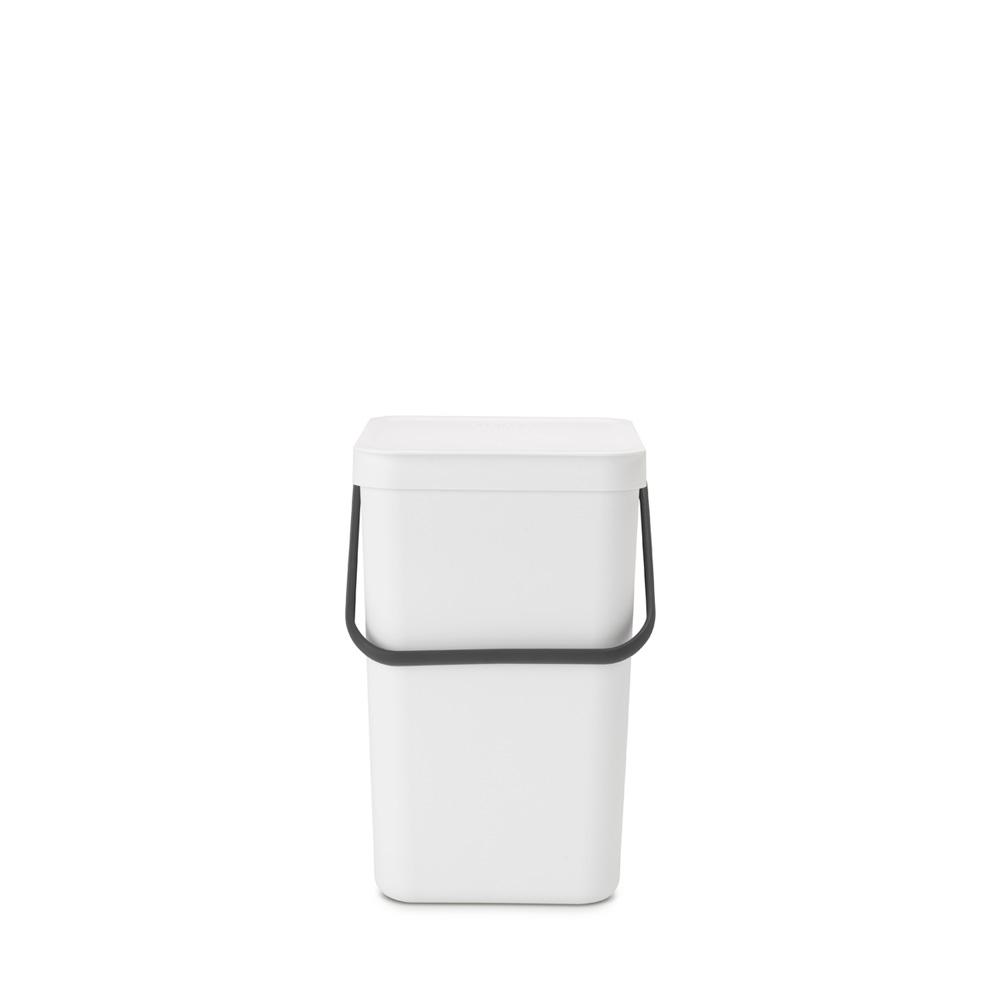 Кош за смет за разделно събиране Brabantia Sort&Go 25L, White