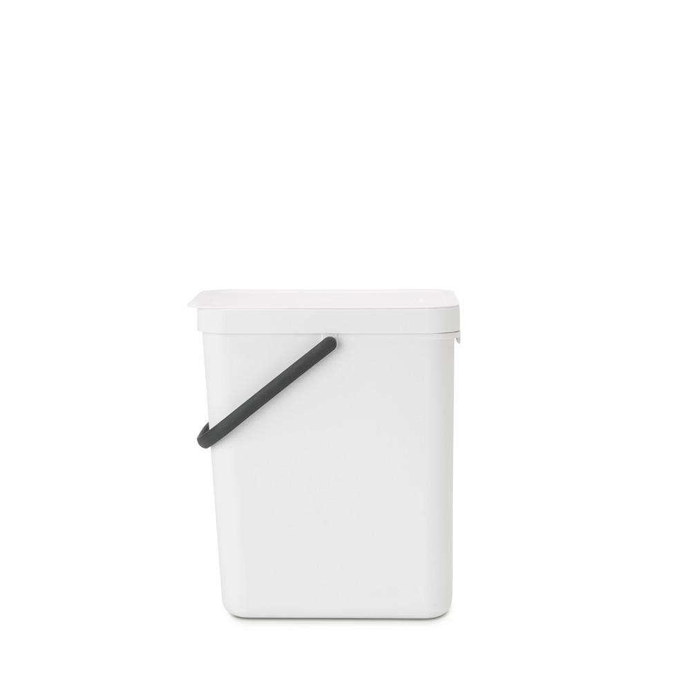 Кош за смет за разделно събиране Brabantia Sort&Go 25L, White(3)