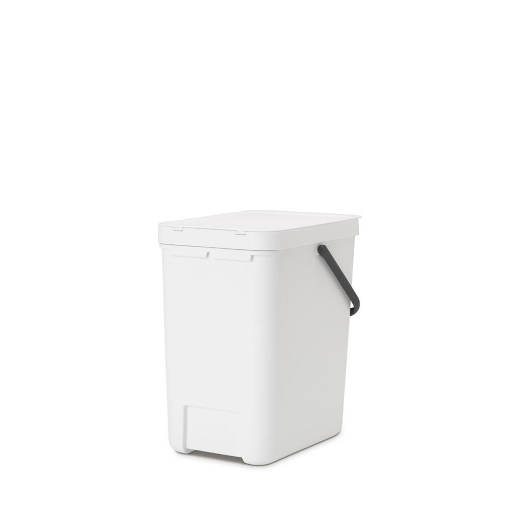 Кош за смет за разделно събиране Brabantia Sort&Go 25L, White(4)