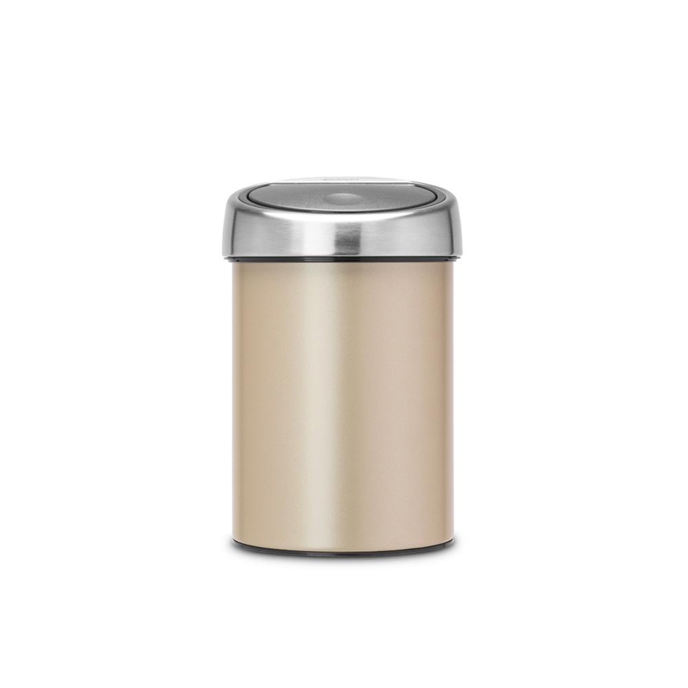 Кош за смет Brabantia Touch Bin 3L, Champagne