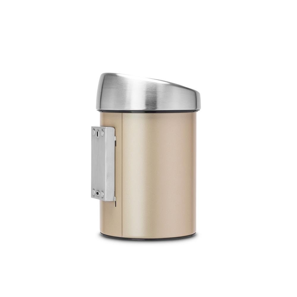 Кош за смет Brabantia Touch Bin 3L, Champagne(4)
